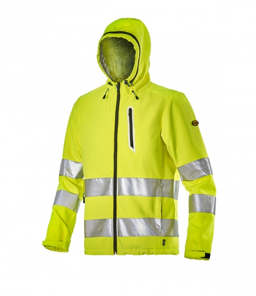 Extreme Softshell HV Fluorescent Yellow