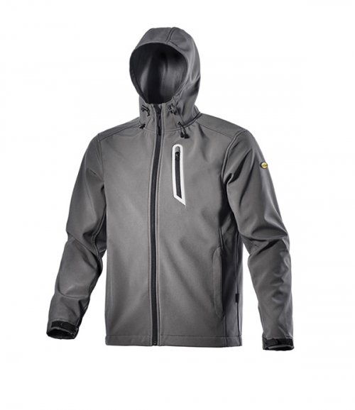 Icon Jacket Sail Storm Grey