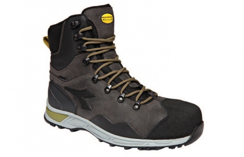 SHOES D-trail leather boot 80004